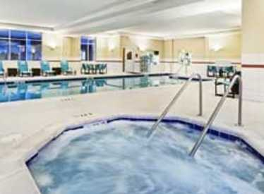 Pool at Residence Inn/Hamilton Place