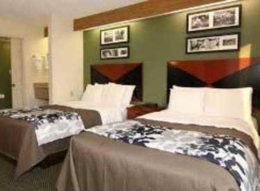 Guest room at Sleep Inn/Hamilton Place