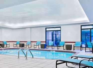 Indoor heated pool at Residence Inn/Downtown