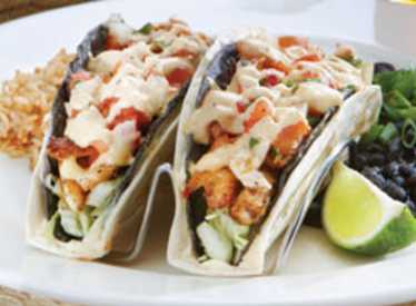 Cajun Fish Tacos at Big River Grille