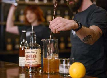 Drink Creation at Chattanooga Whiskey Experimental Distillery