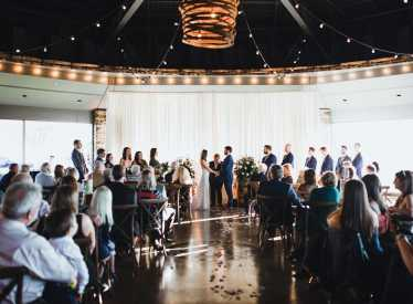 Wedding at Chattanooga Whiskey Experimental Distillery