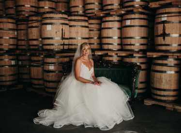 Bride at Chattanooga Whiskey Experimental Distillery