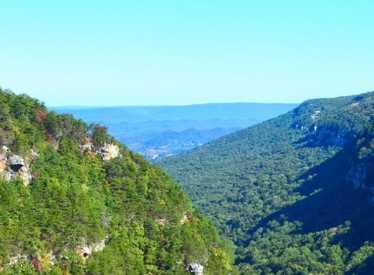 Cloudland Canyon_Valley