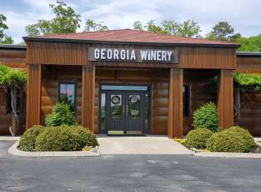 Georgia Winery Front Entrance