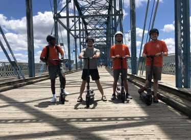 ChattaScooter Walnut St Bridge