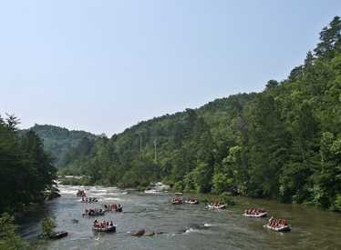 Rafting on the Ocoee with NOC