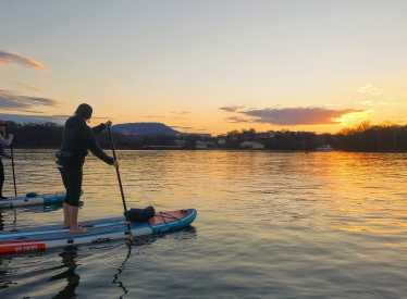 SA's Sunset SUP Adventure