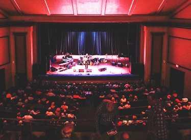 Walker Theatre inside Memorial Auditorium