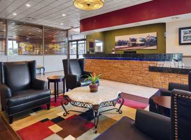 Best Western Heritage Inn Lobby