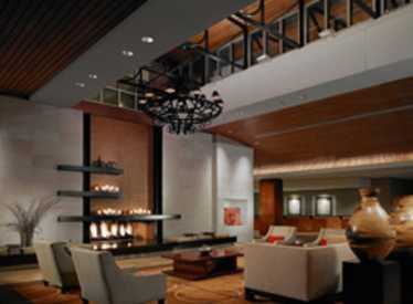 Lobby of Hotel