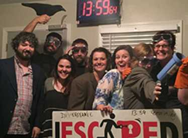 Group having fun at Escape Experience