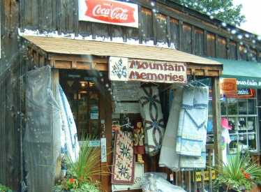 Mountain memories gift shop