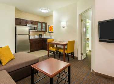 Residence Inn Downtown one-bedroom suite