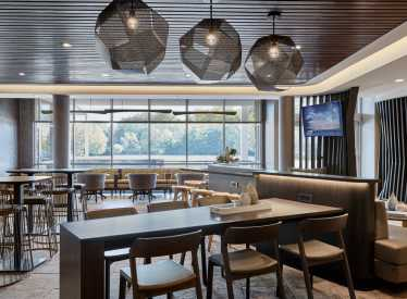 Springhill Suites/Ooltewah lounge area