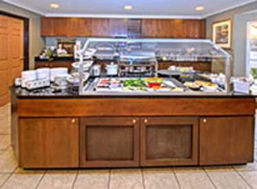 Breakfast bar at Staybridge Suites/Hamilton Place