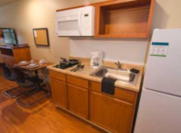 Woodspring Suites Kitchenette