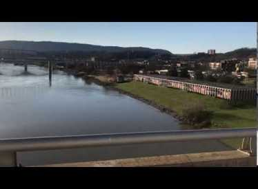 View from Veteran's Bridge