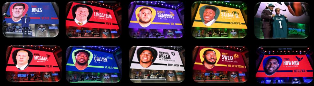 Senior Bowl 2019 1st Round Draft Picks
