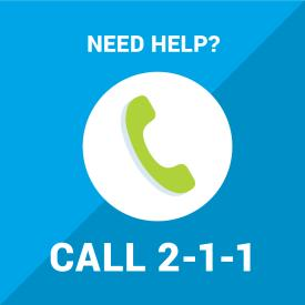 Need non-emergency assistance during the Midland flooding State of Emergency? Call 2-1-1