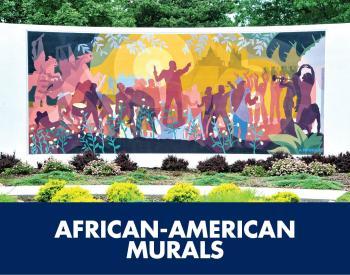 African-American murals tile