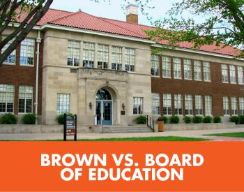 Brown v Board website tile
