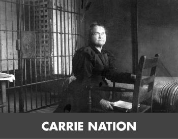 Carrie Nation tile