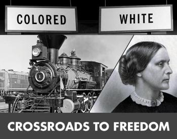 Crossroads to Freedom landing tile