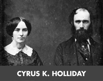 cyrus k. holliday tile