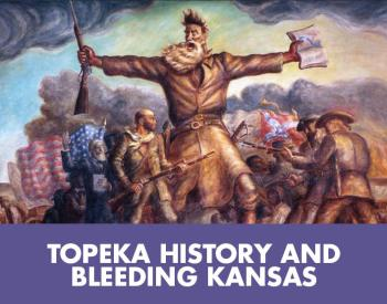 Topeka history and bleeding Kansas tile