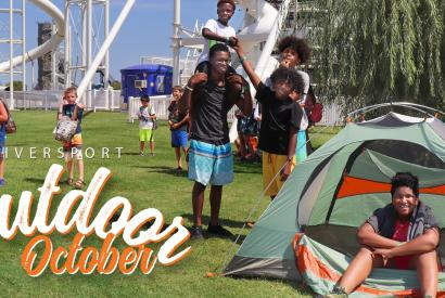 Outdoor October - Thrive Outside!