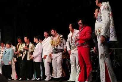 Elvis Extravaganza on the Chickasaw Country Entertainment Stage