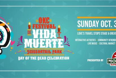 Festival de Vida y Muerte - Day of the Dead Celebration at Scissortail Park