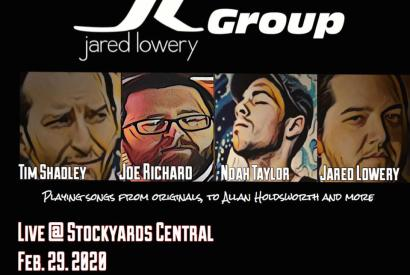 Jared Lowery Group Live
