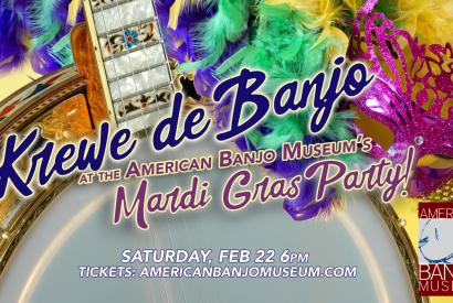 Krewe de Banjo Mardi Gras Party