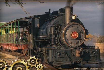 Oklahoma Railway Museum Steam Train RIde