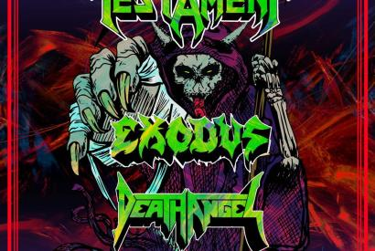Testament - The Bay Strikes Back Tour