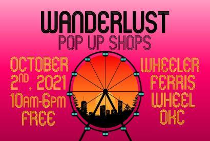 WANDERLUST Pop Up Shops