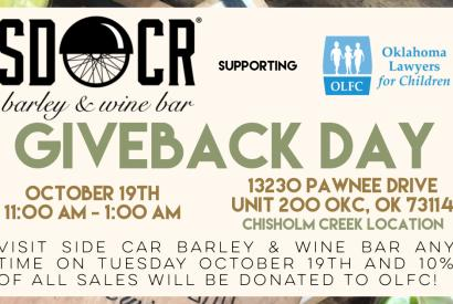 SDCR Giveback Day Supporting Oklahoma Lawyers for Children