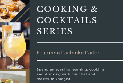 Cooking & Cocktail Series at Parlor