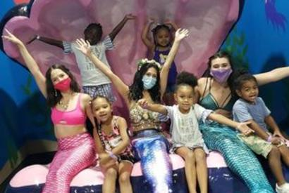 Mermaid Meet and Greet at Blue Zoo