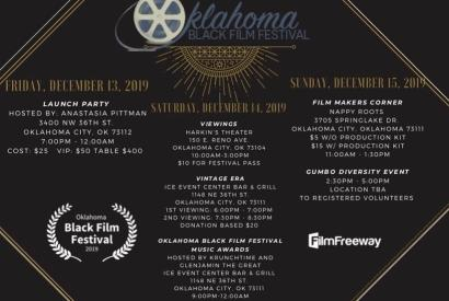 The Oklahoma Black Film Festival Launch Party