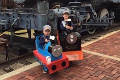 Oklahoma Railway Museum Halloween Train Ride