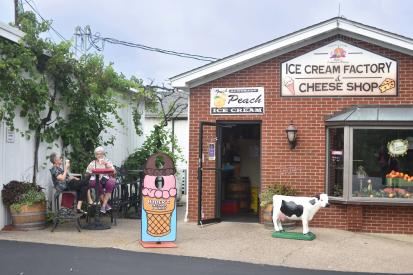Huber's Ice Cream Factory