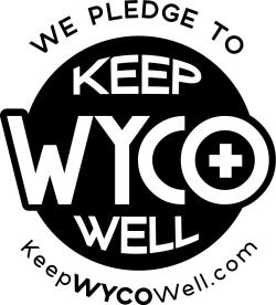 We Pledge to Keep WYCO Well B&W