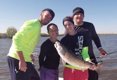 Chartered fishing trip