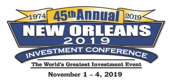 45th Annual New Orleans 2019 Investment Conference