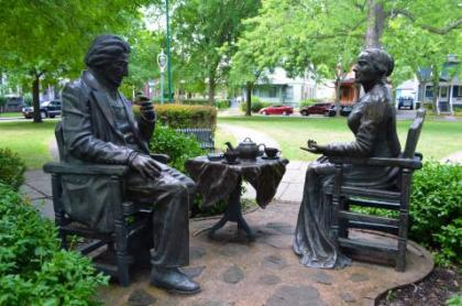 Frederick Douglass and Susan B. Anthony