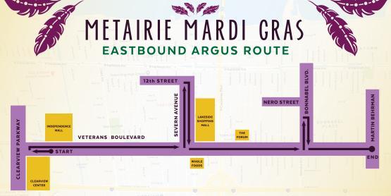 Argus Parade Route
