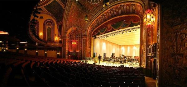 Inside the historic Embassy Theatre before a performance